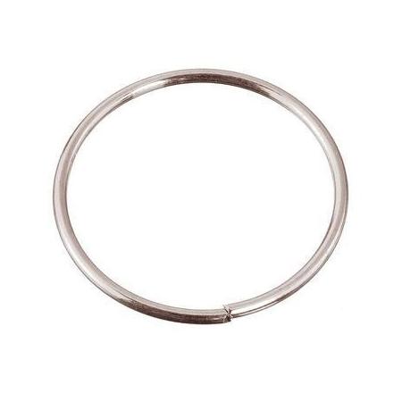 Anneaux/métal platine 10x0,8mm