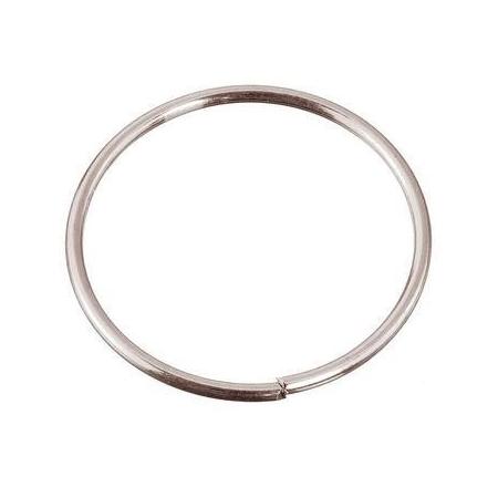 Anneaux/métal platine 15x1,0mm