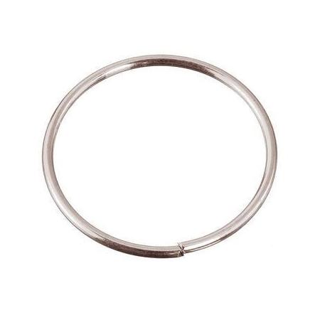 Anneaux/métal platine 20x1,0mm