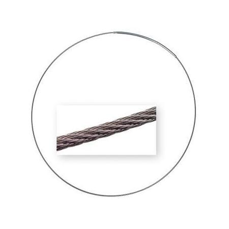 Collier inox acier 42cm