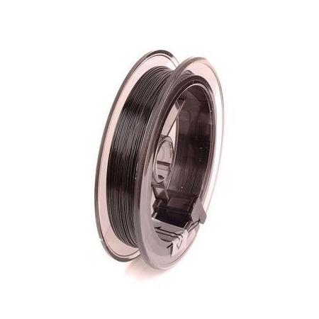 Fil Nylon coated 0,4mm/5m noir