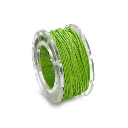 Cordon ciré 0,6mm,10m vert SB1