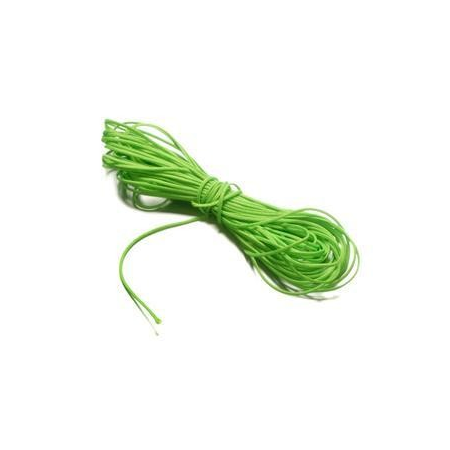 Cordon polyester 0,8mm vert SB5m