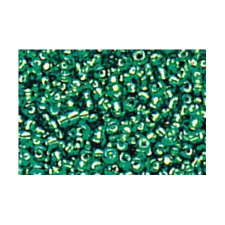 Rocailles rond reflets argentés 15 grs