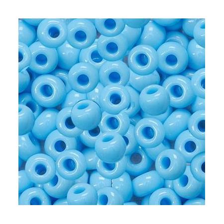 Rocailles indiennes/boîte bleu ciel 17 grs