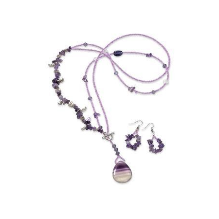 Kit de perles Trendline Purple moon