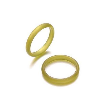 Bague Polaris 3mm taille 19 olive