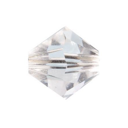 Perle toupie 4mm cristal Swarovski
