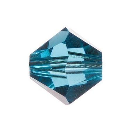 Perle toupie 4mm indicolite Swarovski