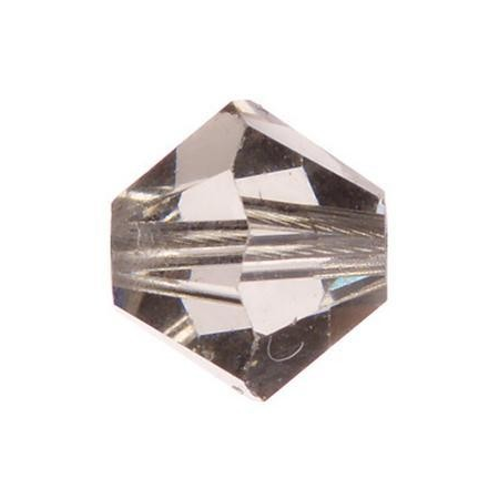 Perle toupie 4mm black diamond Swarovski