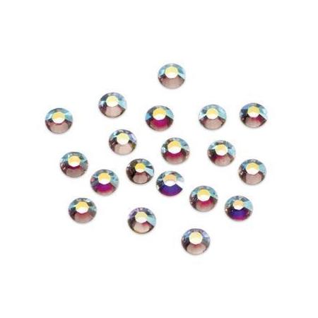 Pierres de strass Swarovski 2,5mm cristal AB