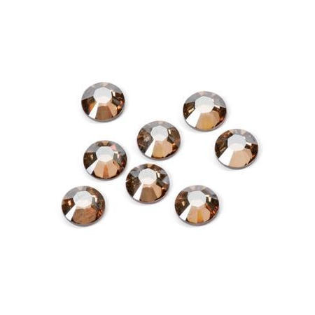 Pierres de strass Swarovski 4,8mm golden shadow