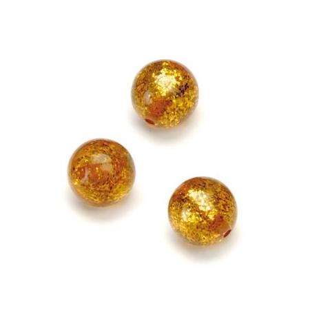Perles Polaris Scintillante 12mm cuivre