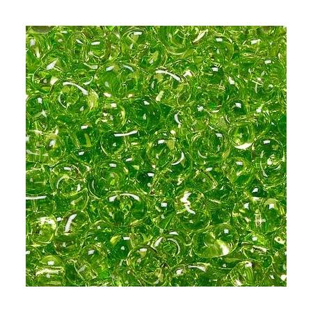 Rocailles Farfalle 3,2x6,5mm vert 15 grs