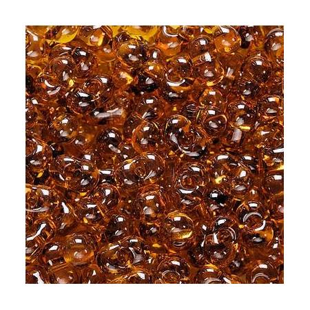 Rocailles Farfalle 3,2x6,5mm topaze 15 grs