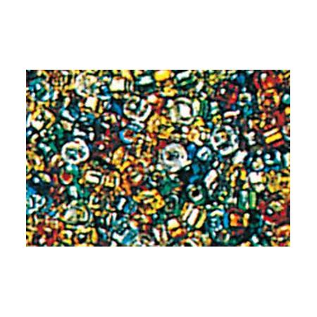 Rocailles hexagone mix 15 grs