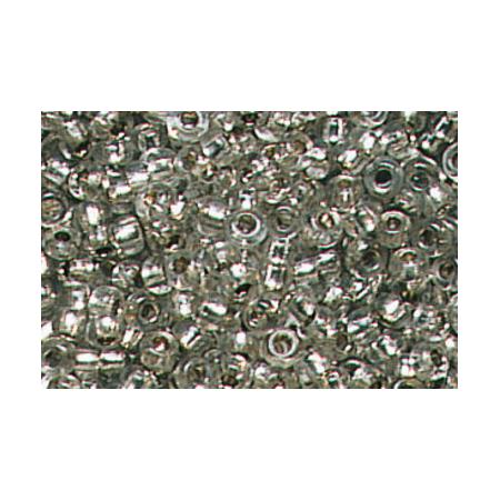 Rocailles arg.2,5mm gris argent 20 grs