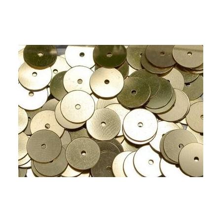 Paill.8mm plates, doré