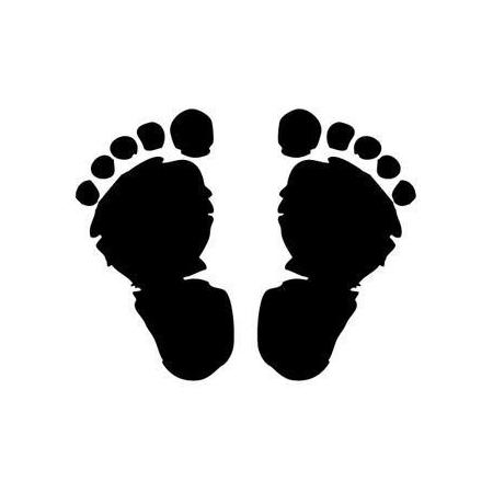 Cachet 'pieds'