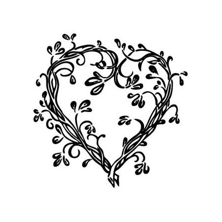 Cachet 'Coeur grimpant'