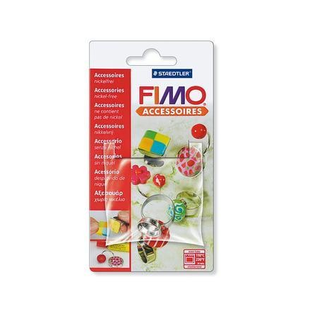 Bague Fimo forme ronde
