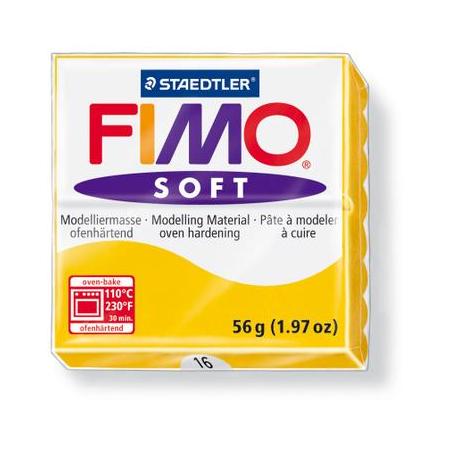 Fimo Soft jaune soleil