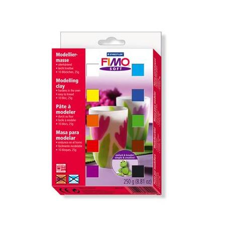 Kit Fimo avec 10 coloris