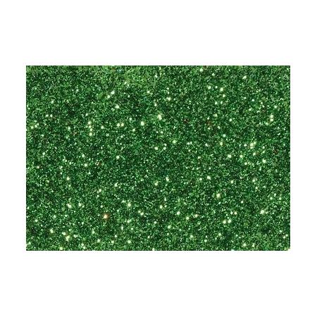 Glitter fin vert tilleul 7g