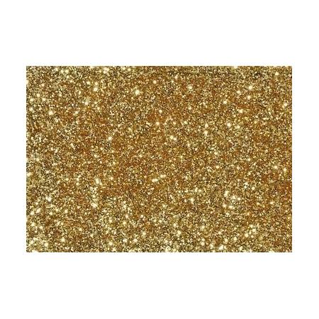 Glitter fin doré 7g