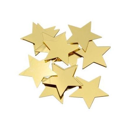 Paillettes étoile 30mm doré20g