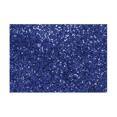 Glitter fin bleu marine7g