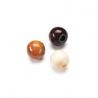 Mix de perles en bois 6mm brun SB118