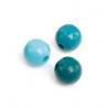 Mix de perles en bois 8mm turquoSB80