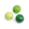 Mix de perles en bois 10mm ve.prSB47