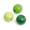 Mix de perles en bois 12mm ve.prSB28