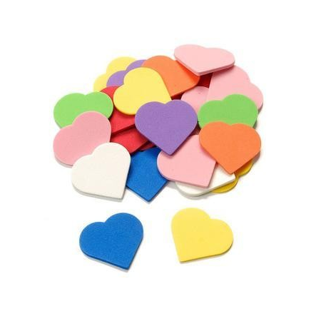 Coeurs estampées en CreaSoft 48P