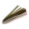 Chenille 6mm mélange vert 50cm X 6mm 10 pces