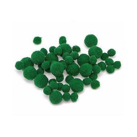 Pompons vert SB100