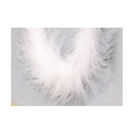 Boa en plume 1m blanc