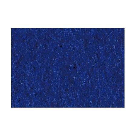 Feut.polyester 30x45cm bleu foncé