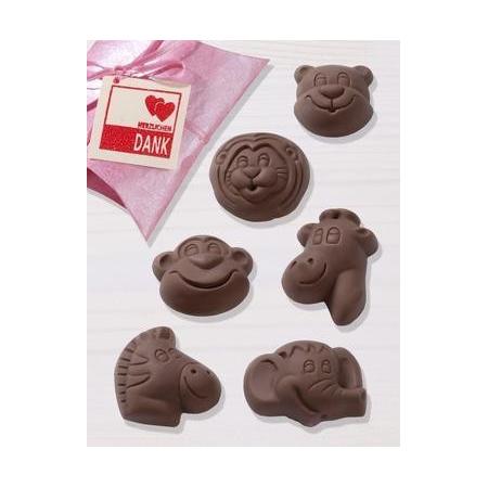 Moules p.chocolat Safari 4.5 - 5.5 cm