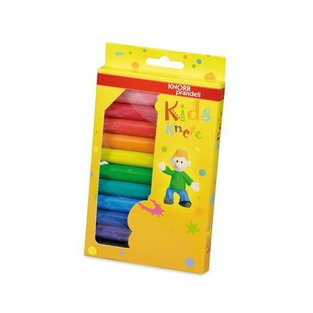 Set pâté à modeler 12 couleurs 200g
