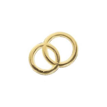 Alliances en cire doré, 32mm