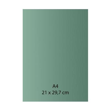 Papier auto-adhésif turquoise A4 110GRS