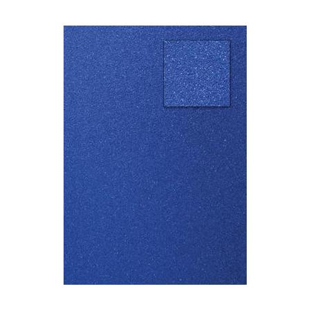 Carton pailleté bleu foncé A4 200GRS