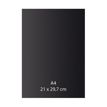 Papier auto-adhésif noir A4 110GRS
