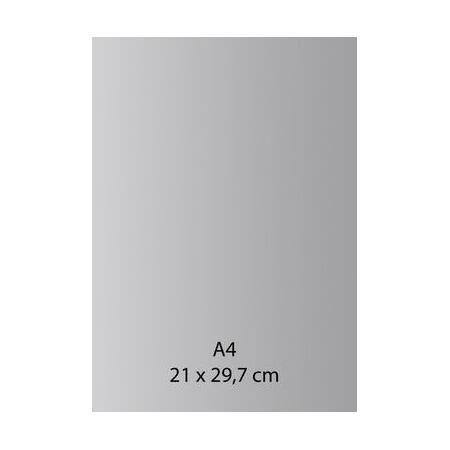 Papier auto-adhésif gris A4 110GRS