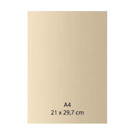 Papier auto-adhésif ivoire A4 110GRS