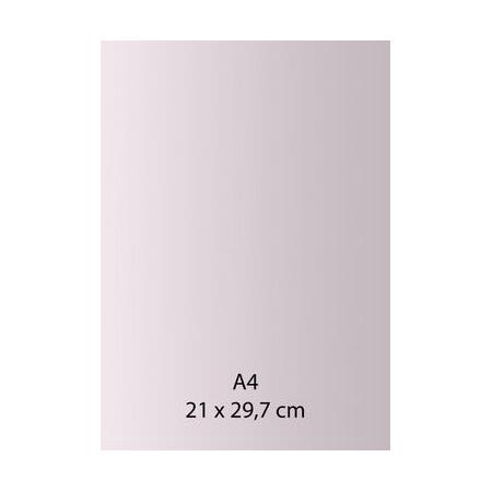 Papier auto-adhésif rose A4 110GRS