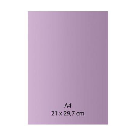 Papier auto-adhésif violet A4 110GRS